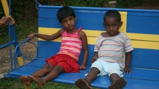 Barn pa Fridsro