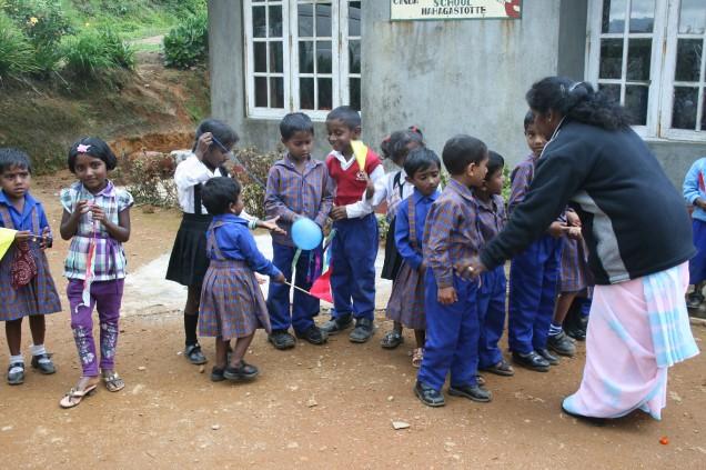 En till forskola i Nuwara Eliya